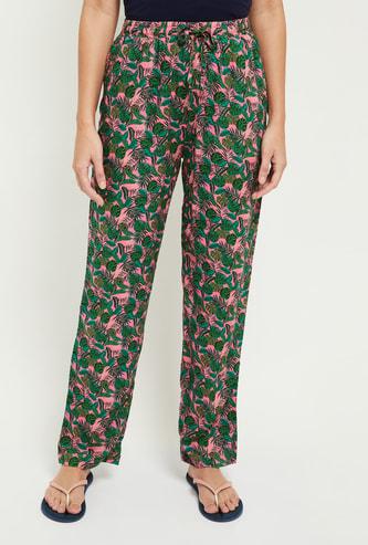 MAX Tropical Printed Lounge Pants