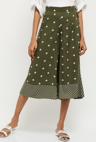 MAX Printed Elasticated Culottes