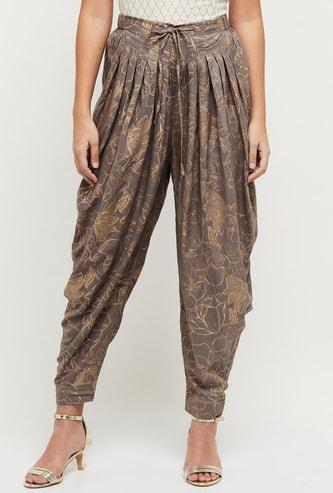 MAX Printed Harem Pants