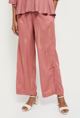 MAX Printed Ethnic Parallel Pants