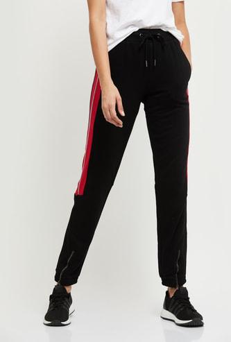 MAX Colourblocked Slim Fit Track Pants