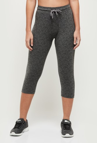 MAX Printed Knitted Sports Capris