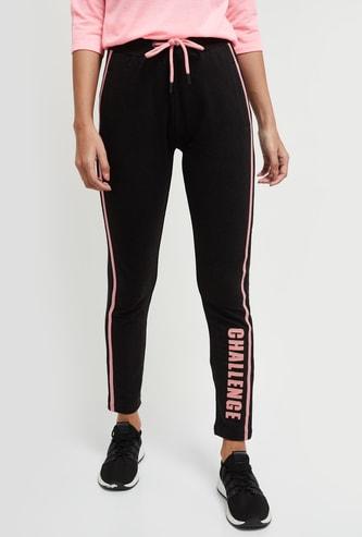 MAX Printed Slim Fit Track Pants