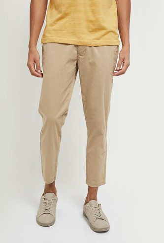 MAX Solid Woven Trousers