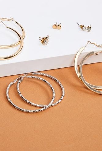 MAX Embellished Earrings- Set of 6