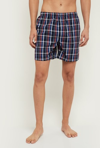 MAX Printed Checked Boxers