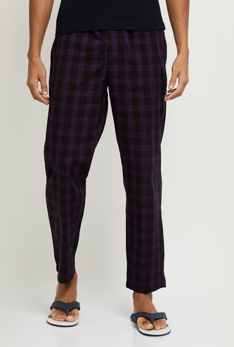 MAX Checked Elasticated Pyjamas
