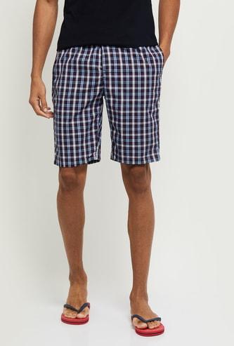 MAX Checked Elasticated Shorts