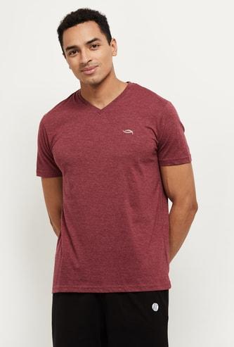 MAX Solid V-neck Lounge T-shirt