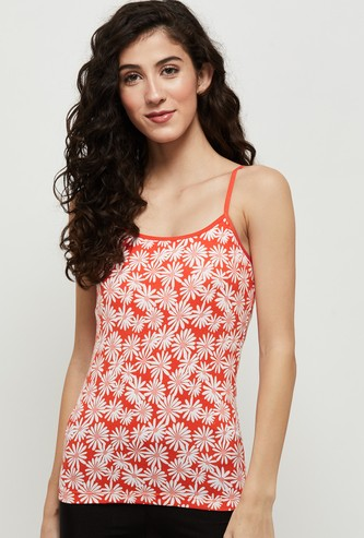 MAX Printed Camisole with Adjustable Straps