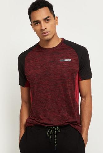 MAX Textured Regular Fit Sports T-shirt