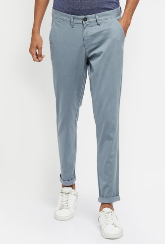 MAX Textured Chino Trousers