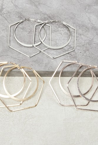 MAX Solid Hoops- Set of 3