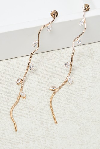 MAX Embellished String Earrings
