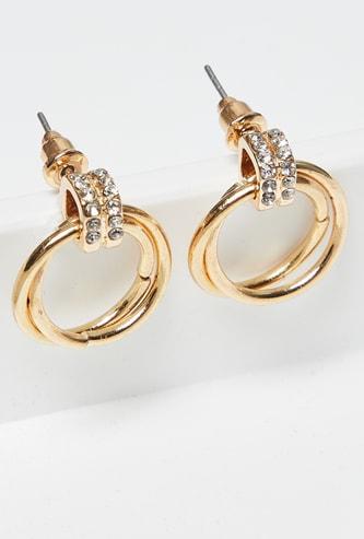 MAX Embellished Drop-Earrings