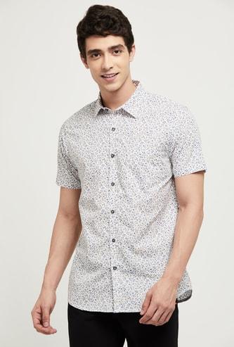 MAX Floral Print Regular Fit Smart Casual Shirt