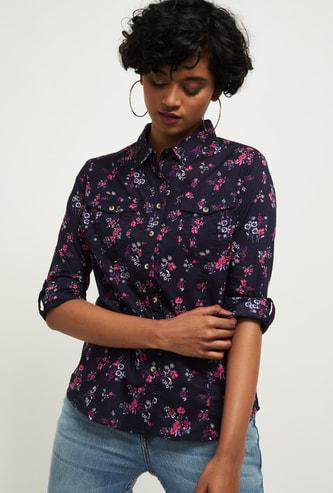 MAX Floral Printed Casual Shirt