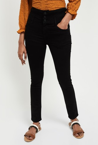 MAX Skinny Fit Solid Jeans