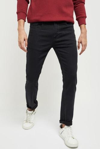 MAX Washed Slim Fit Denim Jeans