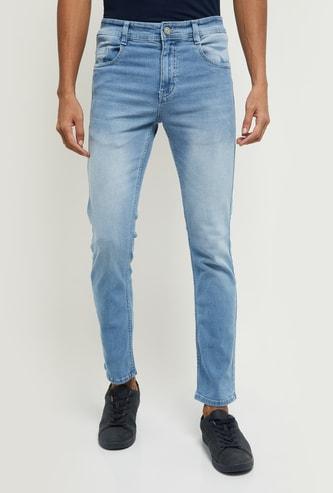 MAX Lightwashed Slim Fit Denim Jeans