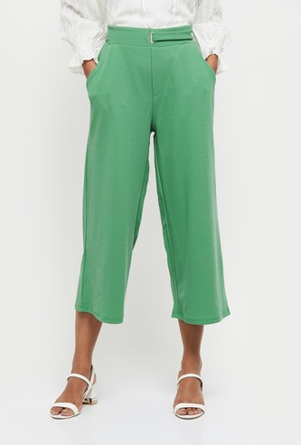 MAX Textured Knit Trousers