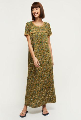 MAX Floral Printed Nightdress