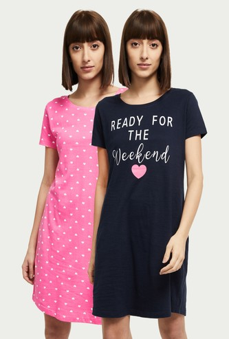 MAX Printed Chemise - Pack of 2