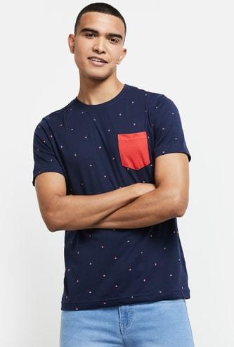 MAX Printed Regular Fit T-shirt