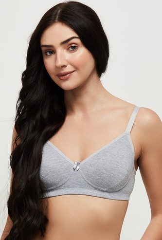 MAX Solid Non-Padded Encircled Bra