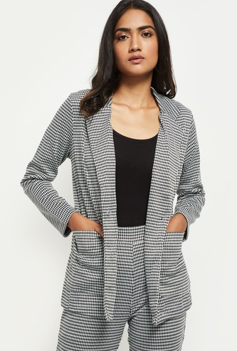 MAX Houndstooth Pattern Jacket
