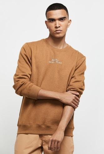 MAX Printed Full Sleeve Sweatshirt