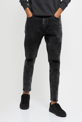 MAX Carrot Fit Washed Jeans