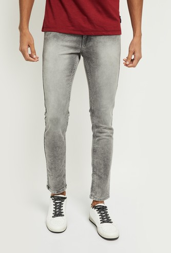 MAX Medium-Washed Skinny Fit Jeans