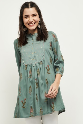 MAX Printed Buttoned Tunic