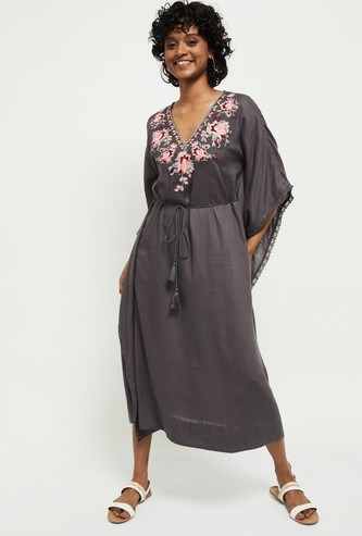 MAX Embroidered Kaftan Dress
