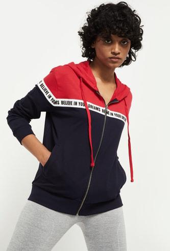 MAX Colourblocked Hooded Jacket