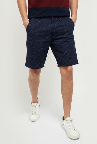 MAX Printed Casual City Shorts