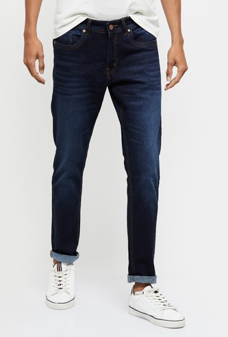 MAX Skinny Fit Washed Jeans