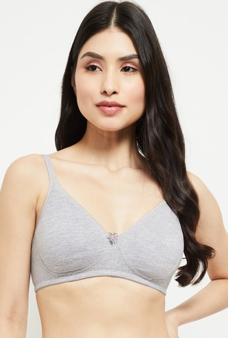 MAX Solid Seamless Non-Padded Bra