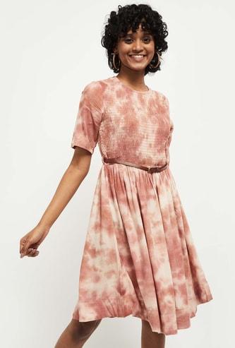 MAX Tie-Dye A-Line Dress