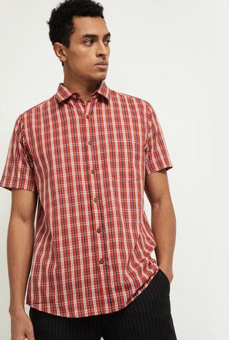 MAX Checked Short-Sleeve Shirt