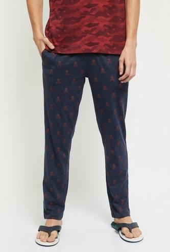 MAX Printed Elasticated Waist Pyjama