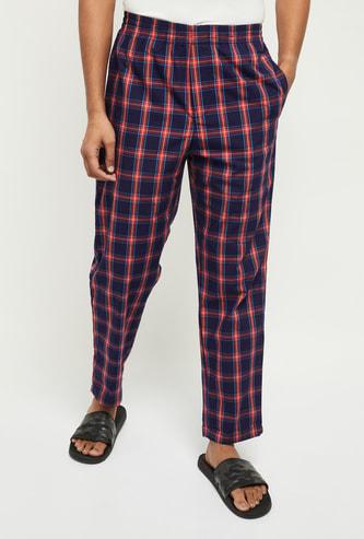 MAX Checked Elasticated Waist Pyjamas