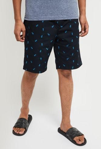 MAX Printed Woven Lounge Shorts