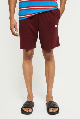 MAX Solid Elasticated Lounge Shorts
