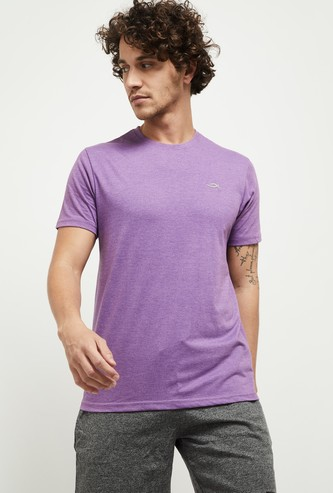 MAX Textured Crew Neck Casual Lounge T-shirt