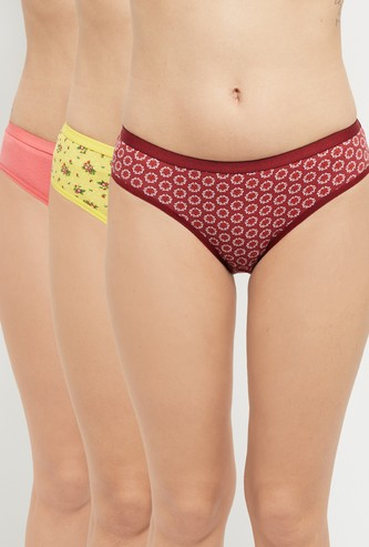 MAX Assorted Hipster Panties - Set of 3