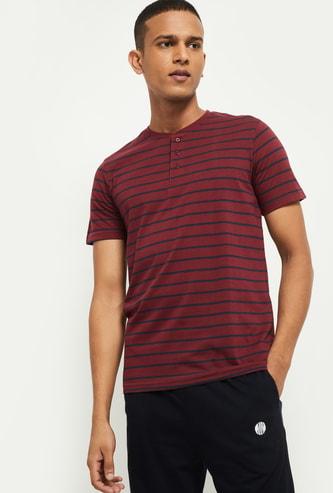 MAX Striped Lounge T-shirt