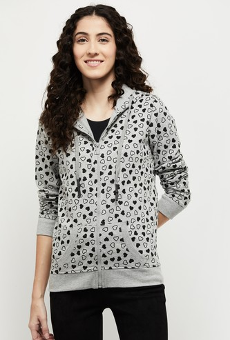 MAX Printed Knitted Lounge Jacket