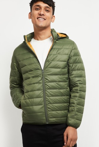 MAX Solid Ultra Light Puffer Jacket